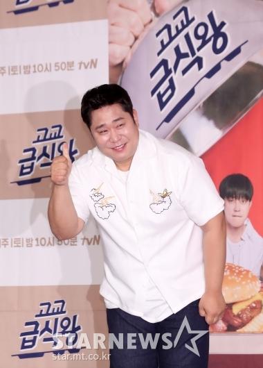 [★포토]문세윤 '고교급식왕'에서 맛보기 담당