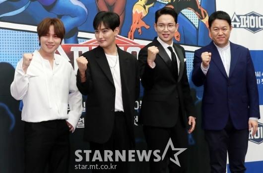 [★포토]귀로 추리하는 예능 '슈퍼히어러'