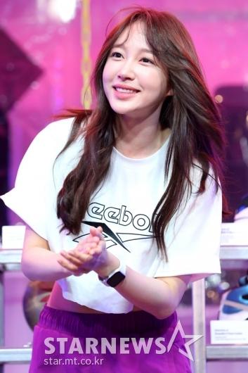[★포토]하니, 아름다운 미소