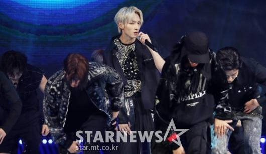 [★포토]주호, 부상 딛고 건강한 컴백 무대