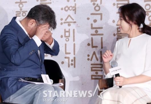 [★포토]눈물 흘리는 조철현 감독
