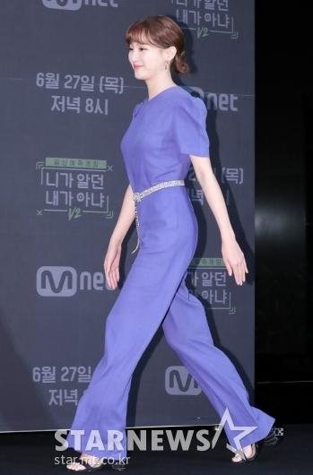 [★포토]정혜성 '다리 길어 보이는 점프슈트'