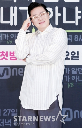 [★포토]이상민 '완벽한 예능인 포즈'