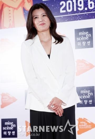 [★포토]진양혜 '미쟝센 영화제 진행 맡았어요'