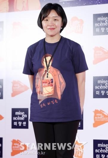 [★포토]미쟝센 단편영화제 참석한 윤가은 감독