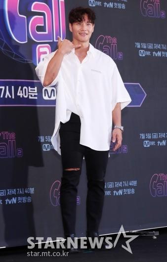 [★포토]김종국 '운동복 대신 깔끔한 패션'