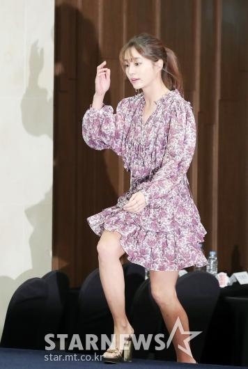 [★포토]이민정 '떨리는 첫 고정예능'