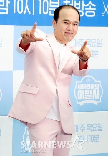[★포토]김광규 '아이돌 포즈'
