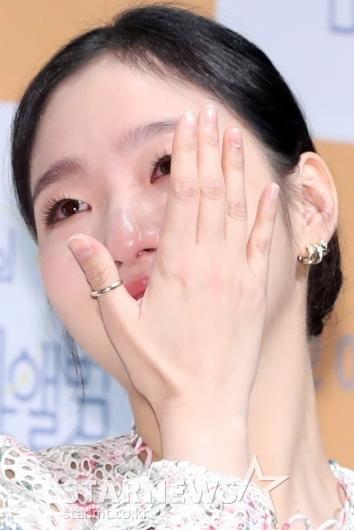 [★포토]김고은, 붉어진 눈시울