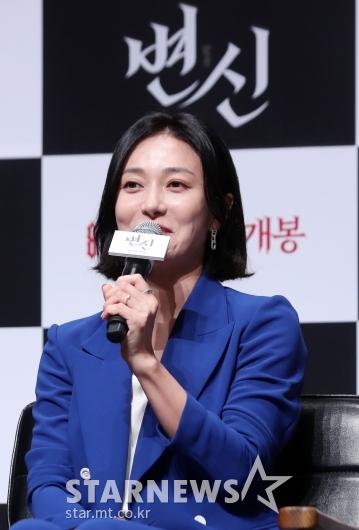 [★포토]장영남 '극 중 성동일의 아내 역할'