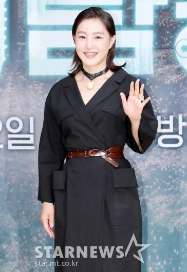 [★포토]박지영 '우아한 손 인사'