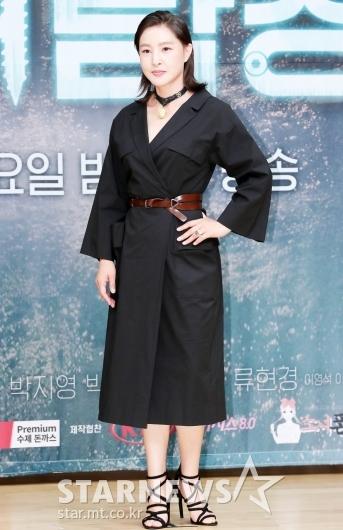 [★포토]박지영 '블랙 패션으로 우아하게'