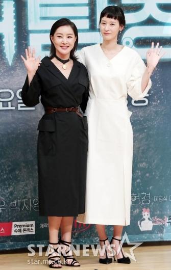 [★포토]박지영-이영진 '자매처럼'