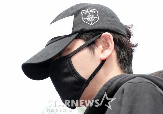 [★포토]검찰로 송치되는 강지환