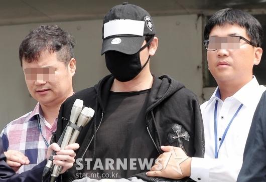 [★포토]검찰 송치되는 '성폭행 혐의' 강지환
