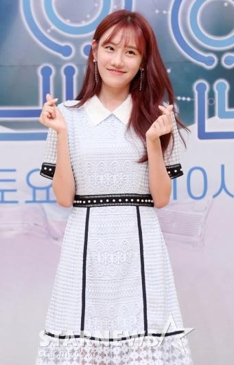 [★포토]정민아 '러블리 하트 뿅뿅'