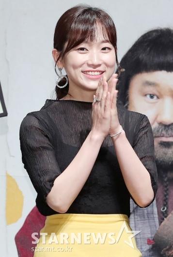 [★포토]김슬기 '떨리는 제작보고회'