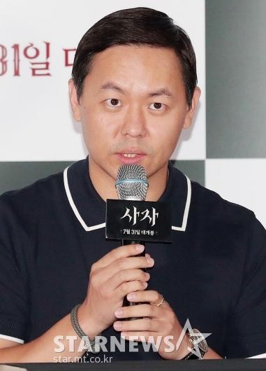 [★포토]인사말 하는 '사자' 김주환 감독
