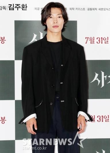 [★포토]우도환 '블랙 카리스마'