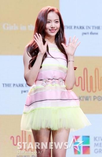 [★포토]레나 '공원소녀 센터 미모'