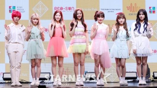 [★포토]공원소녀 '형형색색 상큼한 소녀들'
