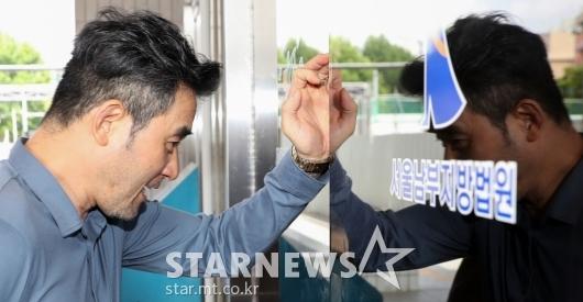 [★포토]최민수 '법정으로'