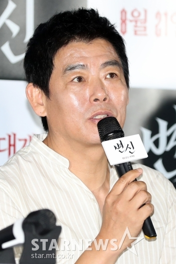 [★포토]성동일 '평범한 공무원 아빠'