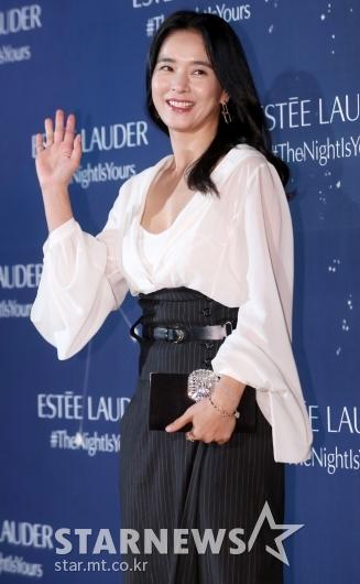 [★포토]정혜영 '아름다운 밤이에요'