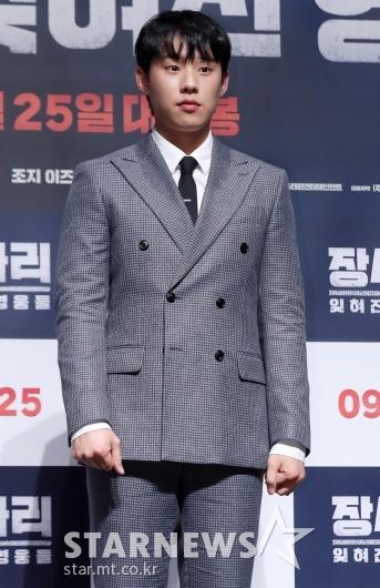 [★포토]김성철 '듬직한 학도병 리더'