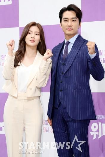 [★포토]이선빈-송승헌, 작가와 정치인