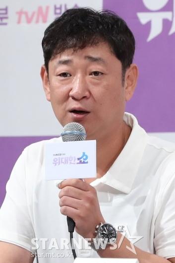 [★포토]드라마 '위대한 쇼'의 신용휘 PD