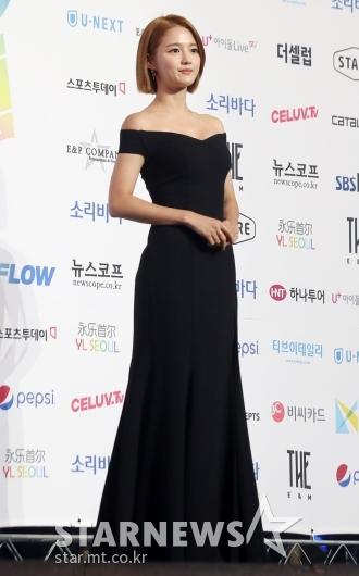 [★포토]남보라 '드레스로 완성한 여신자태'