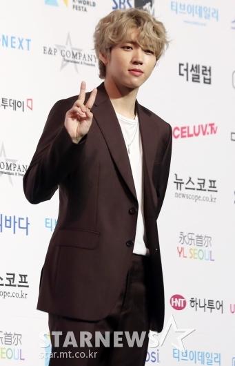 [★포토]남우현 '금발로 헤어 컬러 변신'