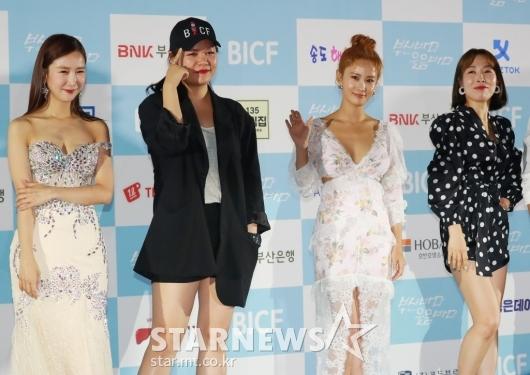 [★포토]박소영-이현정-김지민-오나미 '미녀개그우먼 4총사'