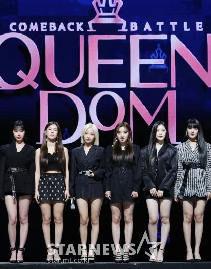 [★포토](여자)아이들 '퀸덤 막내 걸그룹'