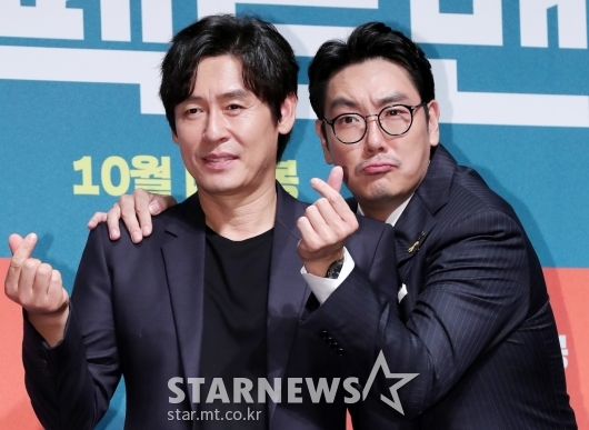 [★포토]설경구-조진웅 '남남 케미 기대하세요'