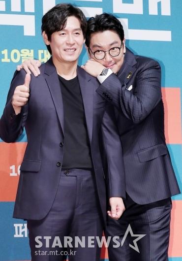 [★포토]조진웅 '우리 (설)경구형 너무 좋아'