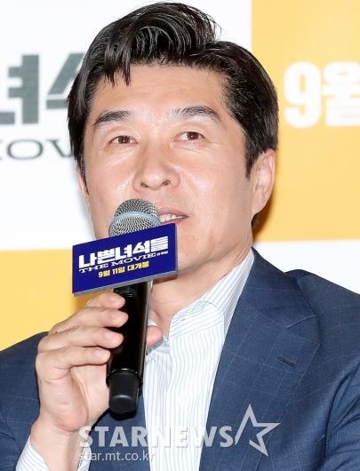 [★포토]김상중 '스크린 오구탁 기대하세요'