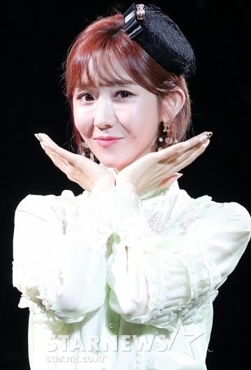 [★포토]하유비 '아이둘 엄마의 미모'