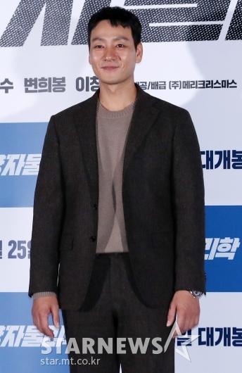 [★포토]박해수 '첫 주연 영화 잘부탁드립니다'