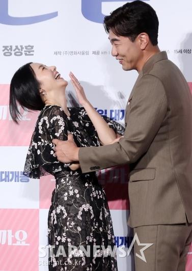 [★포토]이종혁 '이정현을 웃게 만드는 남자'