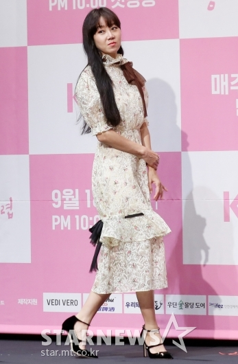 [★포토]공효진 '화사한 플로럴 원피스'