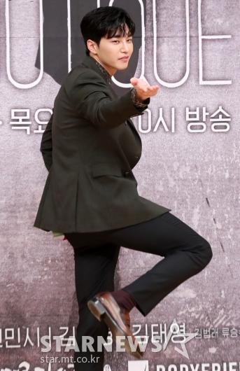 [★포토]김재영 '당황스러운 포즈'