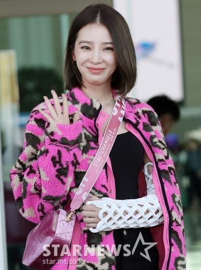 [★포토]아이린 '싱그러운 손인사'