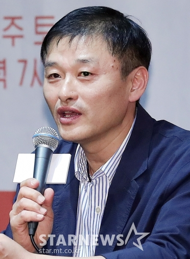 [★포토]인사말 하는 한준서 감독