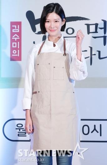 [★포토]신나리 '국밥집 인턴이에요'