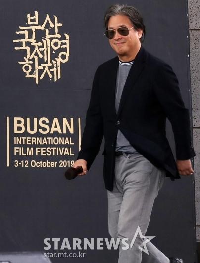 [★포토]부산국제영화제 찾은 박찬욱 감독