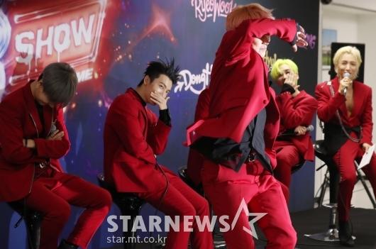 [★포토]규현 '형들이 부끄러워하는 댄스'