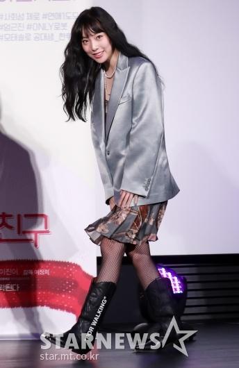 [★포토]이진이 '모델다운 패션센스'