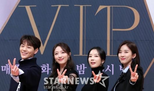 [★포토]신재하-표예진-곽선영-이청아 'V'